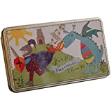 Cookie Jar Tins Bonbons Bonbons/ chocolat Cans Carte postale Boîtes de rangement-A4