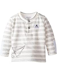 ABSORBA Baby-Boys Paper Airplane Tee
