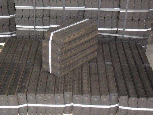 REKORD Braunkohle Briketts 40x25 kg auf 1 Palette