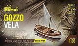 MINI MAMOLI - Modello kit barca GOZZO MEDITERRANEO VELA serie MINI MAMOLI in scala 1:28 - DUS_MM07