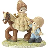 Precious Moments Disney Ltd Ed Belle and Prince Philippe Figurine Figur, Porzellan, Mehrfarbig, One Size