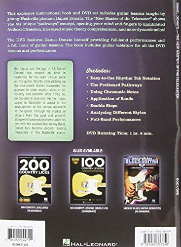 Donato Daniel the New Master of Telecaster Dynamic Solos Gtr book/DVD