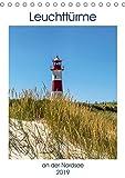 Leuchttürme an der Nordsee (Tischkalender 2019 DIN A5 hoch): Die schönsten Leuchttürme entlang der Nordseeküste (Monatskalender, 14 Seiten ) (CALVENDO Orte) - Andrea Dreegmeyer