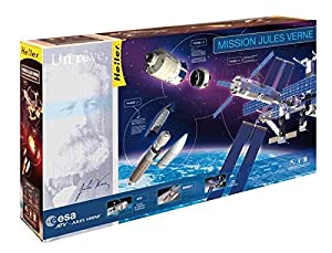 Heller - Nave espacial de modelismo escala 1:14 Importado de Alemania