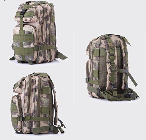 Minetom 35L Zaino Ciclismo Campeggio Viaggio Pack Trekking Escursionismo Montagna Alpinismo Tactical Backpack Bag Impermeabile Rovine