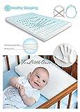 BabyMatex ** MEMO Thermoaktives Babykopfkissen inkl. Bezug ** Antiallergisches MEMORY