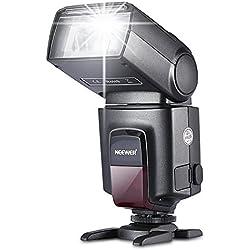 Neewer® TT560 Flash pour Canon Nikon Sony Panasonic Olympus Fujifilm Pentax Sigma Minolta Leica et Les Autres SLR DSLR Caméras SLR Film et Appareil Photo Numérique avec Seul Contact Sabot