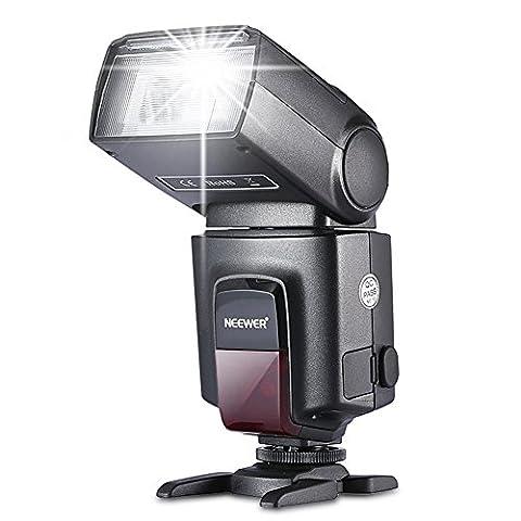 Neewer® TT560-Blitz Speedlite für Canon Nikon Sony Olympus Panasonic Pentax Fujifilm Sigma Minolta Leica und andere SLR Digital SLR Spiegelreflex-Kameras und Digitalkameras mit Single-Kontakt Hot (Blitzlicht Canon)