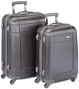 Travelite Koffer-Set Voyager, 2-teilig, ANTHRAZIT, 70330-04