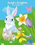 Conigli E Conigliette Libro Da Colorare