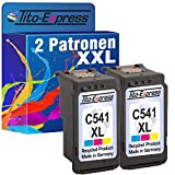 PlatinumSerie® 2 Druckerpatronen für Canon CL-541 XL Color MG4120 MG2150 MG2250 GM3140 MG3150 MG3250