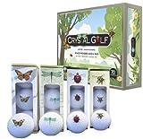 Cristallo Golf Ballswinged meraviglie 1Dozen