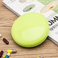 Tragbare Pillendose Versiegelten Kiste Tragbare Mini - Medizin - Box Für Eine Woche,Grüne preisvergleich bei billige-tabletten.eu
