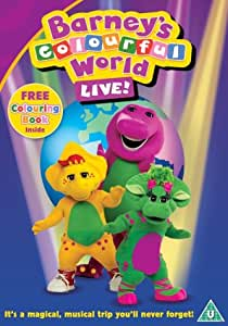 Barney Colourful World Live Dvd Amazon Co Uk