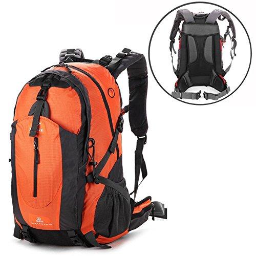 ALUK-borsa a tracolla zaino esterno borsa a tracolla Lesbiche spalle da trekking impermeabili alpinismo borse arancia