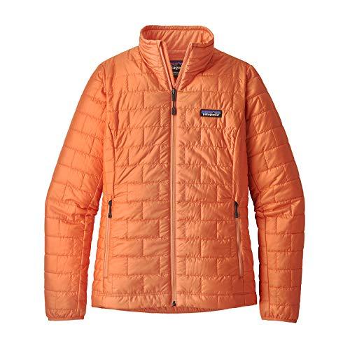 Patagonia Damen W's Nano Puff JKT Jacket, Pfirsich-Sorbet, S -