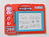 #7: Glitter Collection Magic Slate + Black Slate Chalk Board, Color May Vary