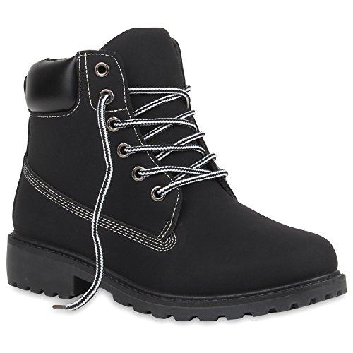 UNISEX Damen Herren Outdoor Worker Boots Camouflage Schuhe Schwarz Weiss