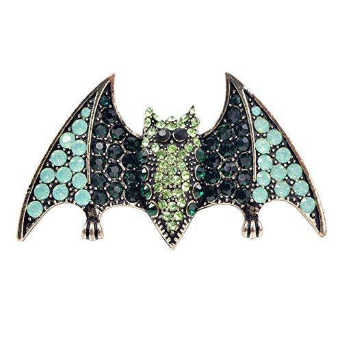 HUNANANA Broschen Für Frauen Schmuck Pins Für Mann Halloween Glitter Strass Party Hochwertige Materialien Mode