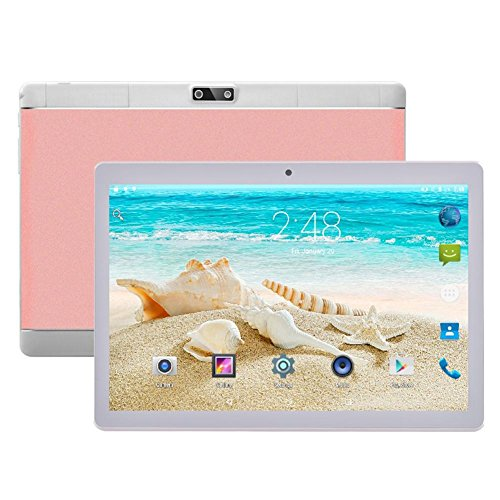Tablet Touchscreen 10,1 IPS-Zoll-Tablet-PC Android 7.0 WiFi Bluetooth GPS - 2 GB RAM + 32 GB ROM - Eight Core MTK 6592 - Handy-Anruf - Zwei Kameras - Tablet-Kinder