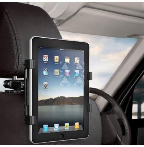SUPPORTO STAFFA da AUTO macchina POGGIATESTA per Apple iPad 2 II Nuovo iPad 3