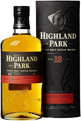 Highland Park 18 Jahre Single Malt Scotch Whisky (1 x 0.7 l)