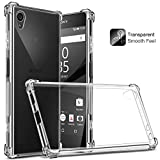 Craftech Shock Proof Soft Protective Transparent Back Case Cover For Sony Xperia XA1 Plus [Bumper Corners]