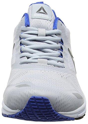 white Uomo Cloud Runner Blue Ahary silver Grey Grigio da Reebok Corsa Scarpe vital g7wUB