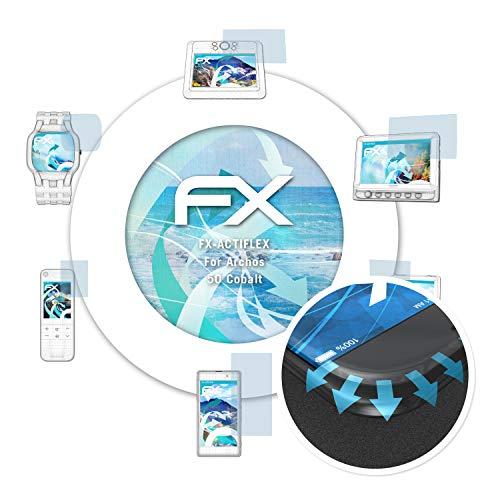 atFolix Schutzfolie passend für Archos 50 Cobalt Folie, ultraklare und Flexible FX Displayschutzfolie (3X)