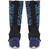 Gaiter de Nieve, 1 Par de Deportes Al Aire Libre Escalada Senderismo Legging Gaiters Calzado Botas Cubierta para Adulto(1#)