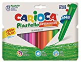 Carioca - Bote con 12 plasticera (A36190012)