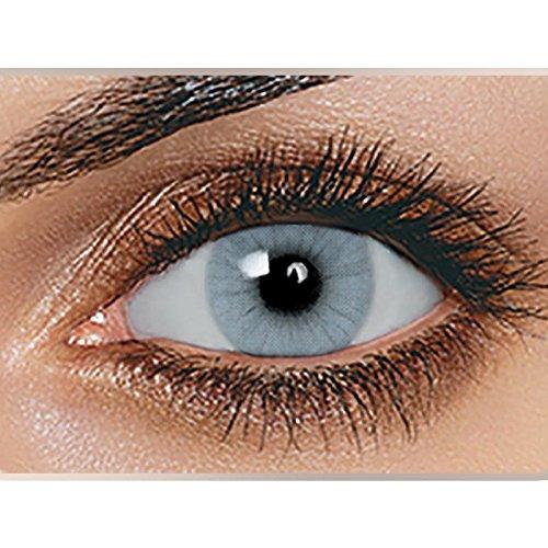 Swiftt Farbige Kontaktlinsen 1 Paar(2 Stück) Ohne Stärke - Verschiedene Farben - Jahreslinsen - Durchmesser: 14.50mm - Krümmungsradius: 8.60° - Wassergehalt: 38{90077b176136c1d46a675ea8f259da423c5945280977cd3a2981e3b1ffe242a4} - Angenehm zu Tragen