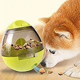El Cuidado Interactivo del Perro Y del Gato Distribuye La Bola, Aumenta El Índice De Inteligencia Y La Estimulación Mental, Y El Diseño del Tambor Es Fácil De Limpiar,Green