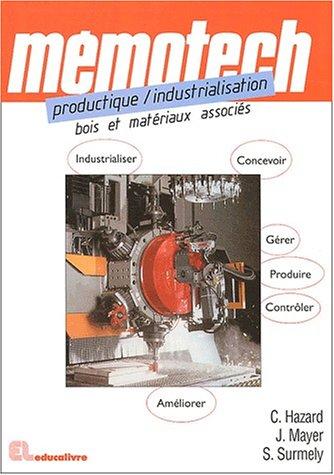Productique/Industrialisation - Bois et ...
