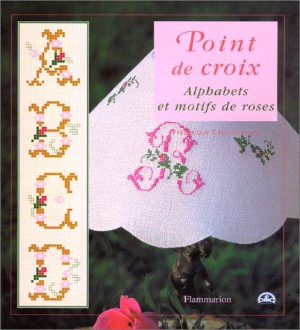 Alphabets et motifs de roses par Frédérique Crestin-Billet
