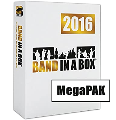 Band in a Box MegaPAK (PC) from PG Music