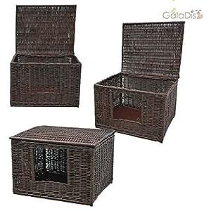 1 19b katzenhaus von galadis katzenh hle der kuschlige schlafplatz f r katzen oder als. Black Bedroom Furniture Sets. Home Design Ideas