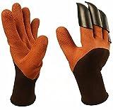stanbow Garten Handschuh, Genie Handschuhe mit Krallen für Umgraben und Bepflanzen, Schutz Hand Garten Tools Supplies Produkte