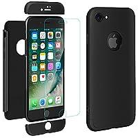 """Creata esclusivamente per Apple iPhone 7 (4.7 pollici).(Non disponibile per iPhone 7 Plus(5.5"""").3-in-1 Struttura:Progettato con 3 parte di matte PC per proteggere il vostro iPhone da cadere, la scossa e graffi ecc.Applicazione semplice grazie..."""