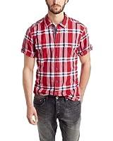 edc by ESPRIT Men's Classic Short Sleeve Casual Shirt