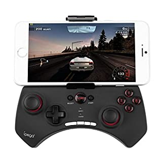Luxury Wireless Bluetooth Wireless Game Controller Gamepad Joystick for Motorola Atrix 4G & Atrix 2 & Electrify & Sledge 2 (2015) & Moto G & Moto E & Moto E & E Smartphone