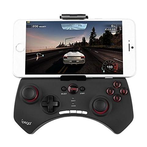 Bestdeal Wireless Bluetooth Spiel Steuerpult Gamepad Joystick Game Controller für Samsung Galaxy Premier & Prevail 2 & Round & Rugby Pro & S Advance Handy