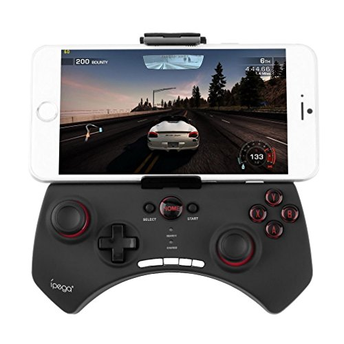 bestdeal Wireless Bluetooth Game Controller Gamepad Joystick für Spice Mobile Stellar 361 & 362 & 430 & 439 & 440 & 445 & 470 & 497 & 507 & 508 & 509 & 516 Smartphone (Pg 445)