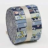SewCrafte 100% Baumwolle Jelly Rolls Stoff Stoff frei für