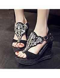 KPHY-high heeled scarpe da donna personalita 'le dita dei piedi i tacchi per scarpe da donna sexy sandali. black…