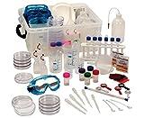 Betzold Naturwissenschaftliche Experimentierbox, über 100 Arbeitsmittel, Labor, in robuster Aufbewahrungsbox