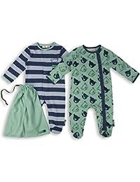 The Essential One - Baby Jungen Schlafanzuge/Schlafanzug/Einteiler/ Strampler (2-er Pack mit Beutel) - ESS165
