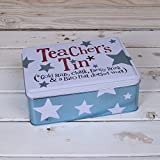The Bright Side Storage Tin - Teachers Tin* (*Gold Stars, Chalk, Energy Drink & Biro that doesn't work)... by Bright Side