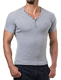 Young and Rich - T shirt homme tendance T shirt 873 gris clair - Gris