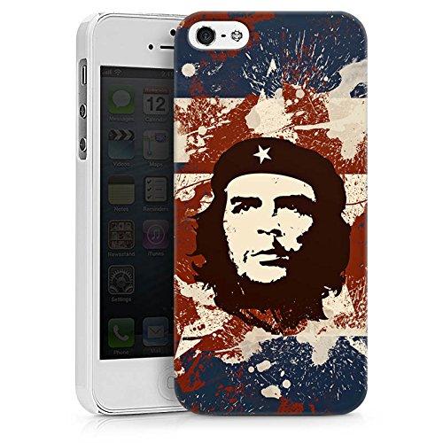 Apple iPhone X Silikon Hülle Case Schutzhülle Che Guevara Revolution Freiheit Hard Case weiß